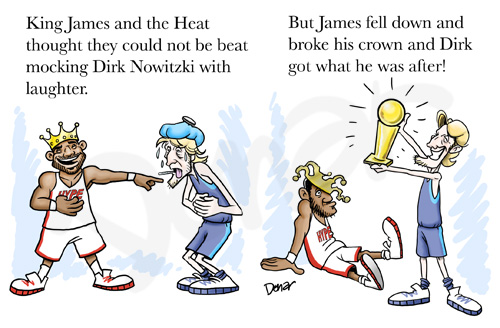 Lebron James Cartoon